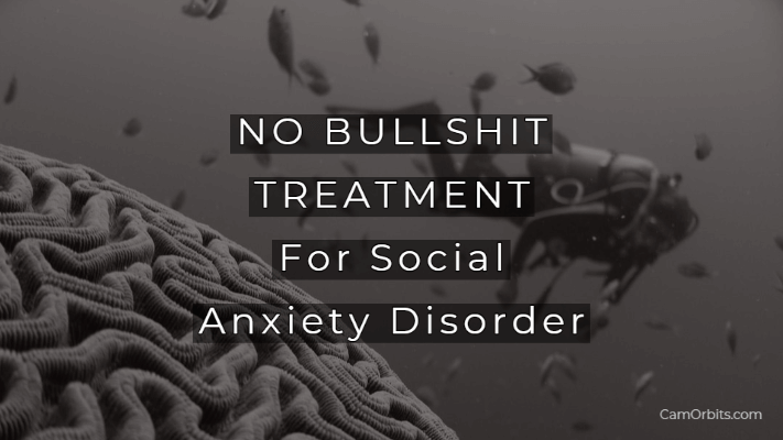 no bullshit treatment for social anxiety disorder