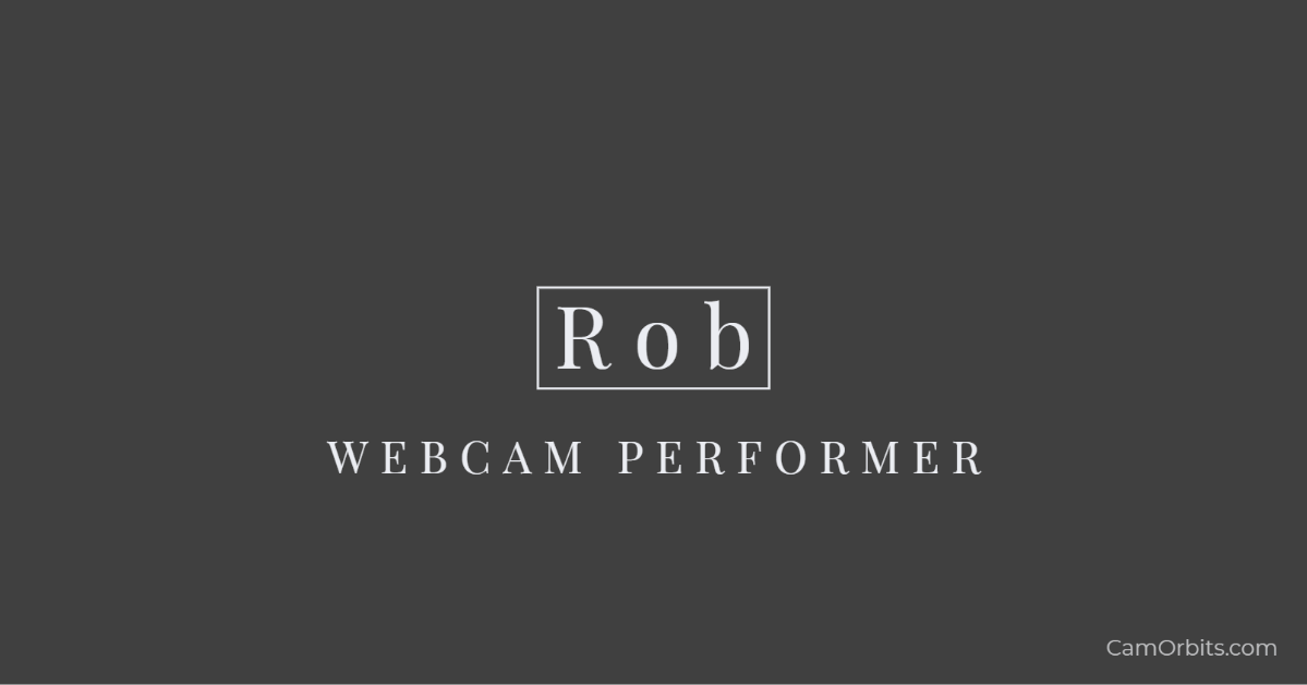 Interview with Male Webcam Model, Rob