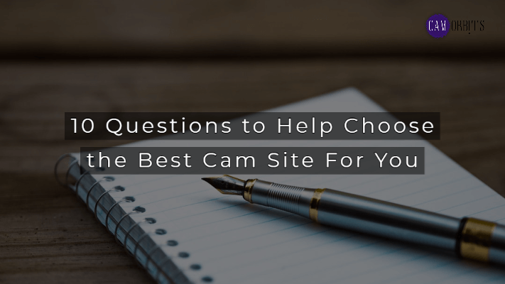 how to choose the best cam site for you